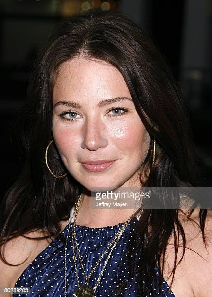 Actress Lynn Collins arrives at MTV Films StopLoss Los Angeles Premiere at the DGA Theatre Complex on March 17 2008 in Los Angeles California