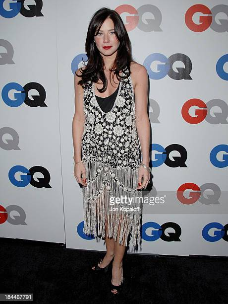 Actress Lynn Collins arrives at the 13th Annual GQ Men of the Year Party at the Chateau Marmont on November 18 2008 in Los Angeles California