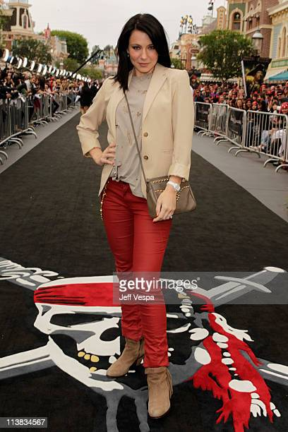 Actress Lynn Collins arrives at the world premiere of Pirates of the Caribbean On Stranger Tides at Disneyland on May 7 2011 in Anaheim California