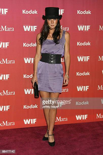 Actress Lynn Collins arrives at Women In Film's 2009 Crystal and Lucy Awards at the Hyatt Regency Century Plaza on June 12 2009 in Century City...