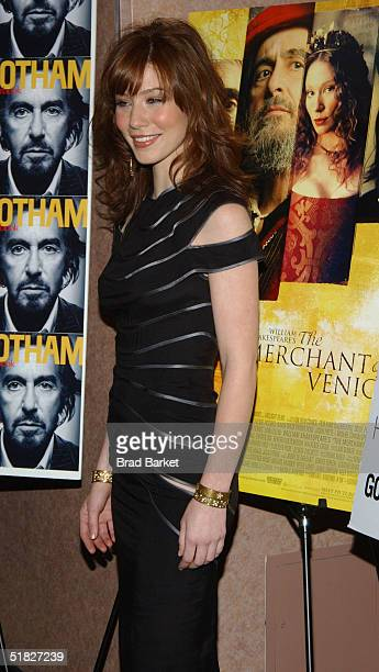 "Actress Lynn Collins arrives to the premiere of ""The Merchant of Venice"" at the U/A Theatre on December 5, 2004 in New York."