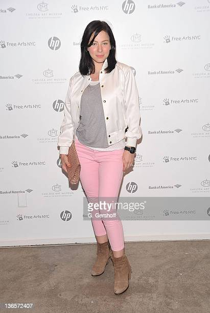 Actress Lynn Collins attends Free Arts NYC's 12th annual Art Auction benefit at Chelsea Art Museum on May 17 2011 in New York City