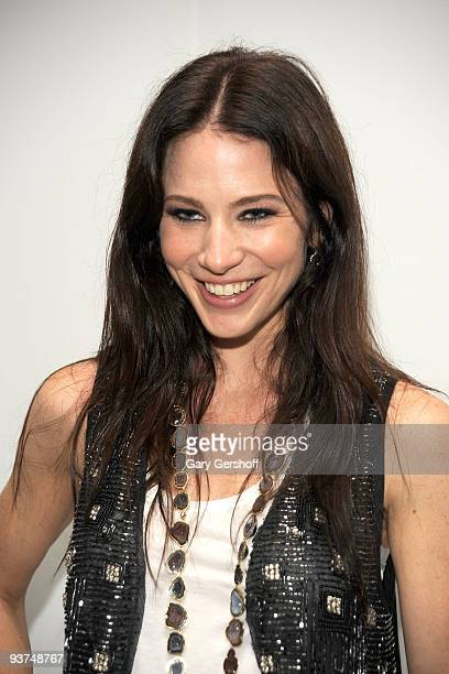 Actress Lynn Collins attends Olivia Spring 2010 during MercedesBenz Fashion Week at 415 West 13th Street on September 12 2009 in New York City