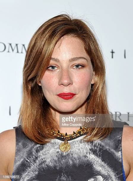 Actress Lynn Collins attends the Cinema Society with Dior Homme GQ screening of Restless at Landmark Sunshine Theater on September 14 2011 in New...