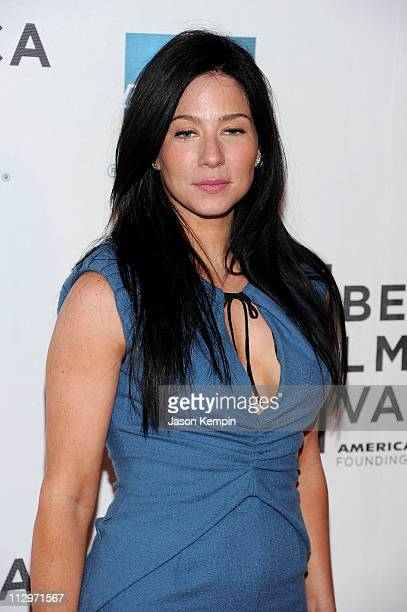 Actress Lynn Collins attends the premiere of Angel's Crest during the 2011 Tribeca Film Festival at BMCC Tribeca PAC on April 22 2011 in New York City