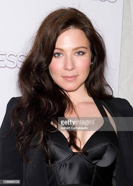 Actress Lynn Collins attends the premiere of Limitless at the Regal Union Square on March 8 2011 in New York City