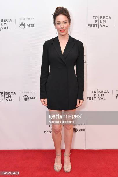 Actress Lynn Collins attends the screening of Dead Women Walking during the Tribeca Film Festival at Cinepolis Chelsea on April 20 2018 in New York...