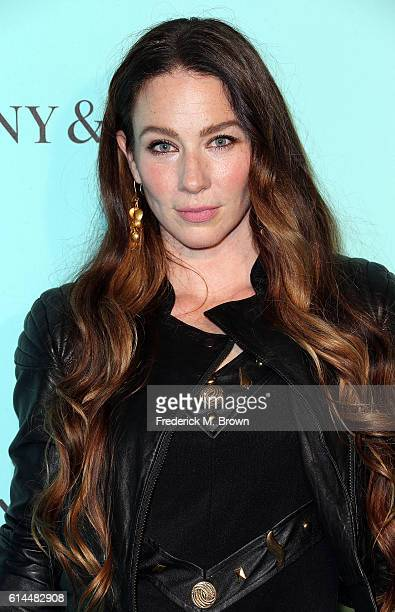 Actress Lynn Collins celebrates the unveiling of the renovated Tiffany Co Beverly Hills store at Tiffany Co on October 13 2016 in Beverly Hills...