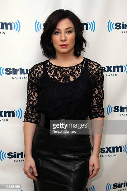 Actress Lynn Collins visits SiriusXM Studio on March 7 2012 in New York City