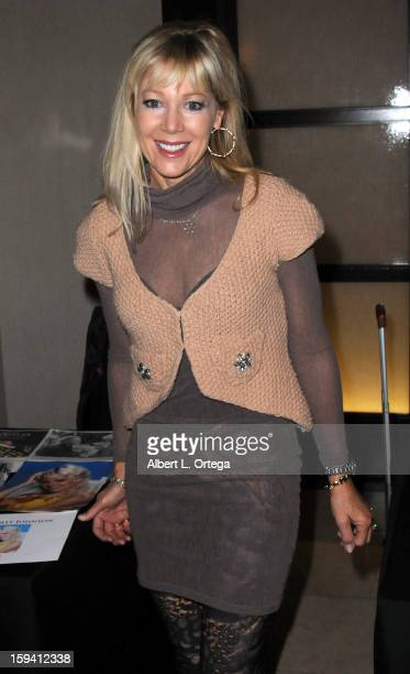 Actress Lynn Holly Johnson attends day 1 of The Hollywood Show held at Westin LAX on January 12 2013 in Hollywood California