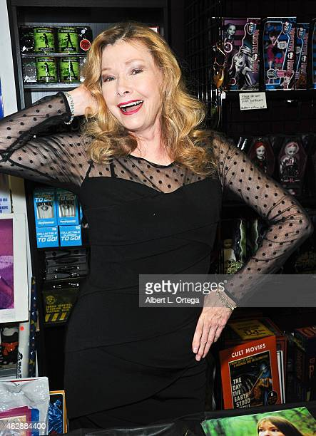 Actress Lynn Lowry at the Second Annual David DeCoteau's Day Of The Scream Queens held at Dark Delicacies Bookstore on January 25, 2015 in Burbank,...
