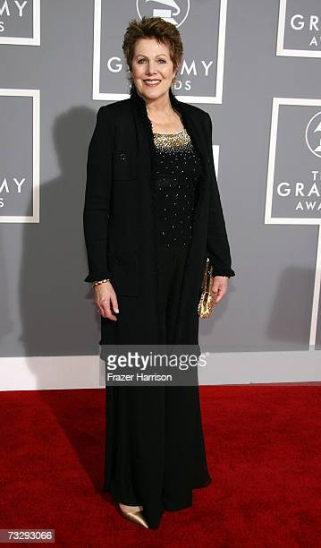 Actress Lynn Redgrave arrives at the 49th Annual Grammy Awards at the Staples Center on February 11, 2007 in Los Angeles, California.