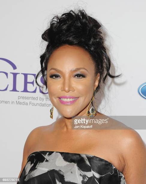 Actress Lynn Whitfield arrives at the 42nd Annual Gracie Awards at the Beverly Wilshire Four Seasons Hotel on June 6 2017 in Beverly Hills California