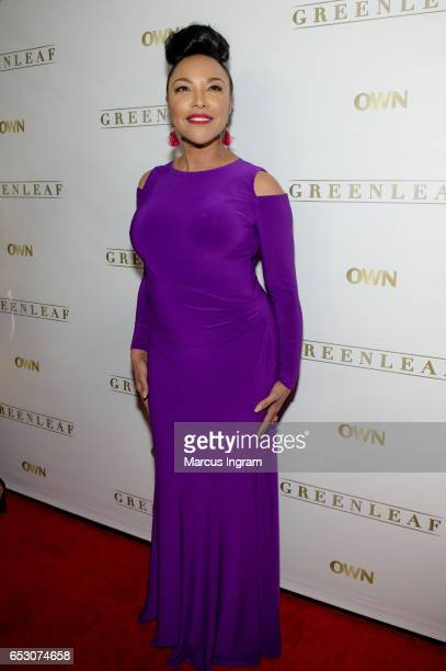 Actress Lynn Whitfield attends 'Greenleaf' Season 2 Premiere Atlanta screening at SCADshow on March 13 2017 in Atlanta Georgia