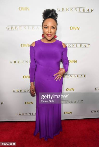 Actress Lynn Whitfield attends 'Greenleaf' Season 2 Premiere Party at W Atlanta Midtown on March 13 2017 in Atlanta Georgia