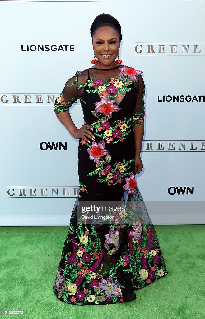 Actress Lynn Whitfield attends the premiere of OWN's 'Greenleaf' at The Lot on June 15, 2016 in West Hollywood, California.
