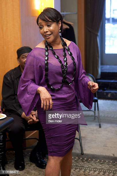 Actress Lynn Whitfield attends Woodie King Jr's New Federal Theatre's 40th anniversary gala at Trump Plaza on April 25 2011 in New York City