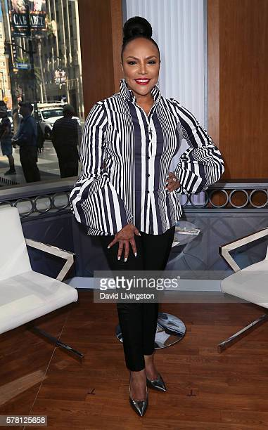 Actress Lynn Whitfield visits Hollywood Today Live at W Hollywood on July 20 2016 in Hollywood California