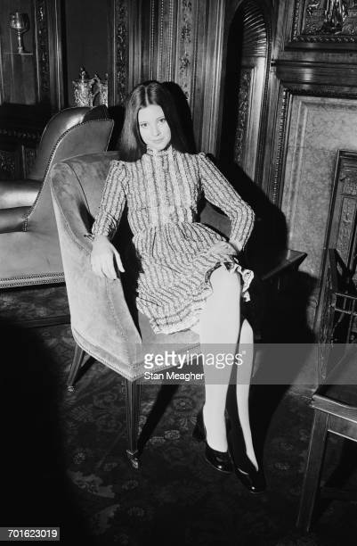Actress Lynne Frederick star of the film 'Nicholas and Alexandra' UK 3rd November 1971 She plays Grand Duchess Tatiana in the film