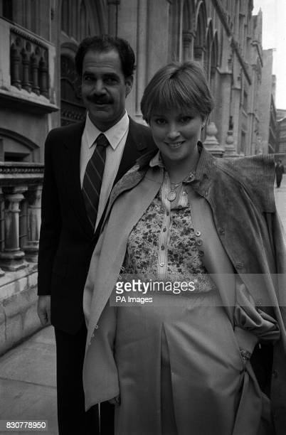 Actress Lynne Frederick widow of Peter Sellers launching a High Court bid to ban further screening of the latest Pink Panther film made after Sellers...
