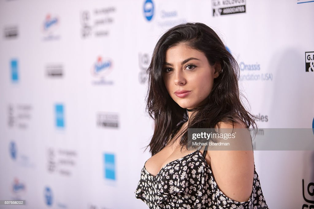 Actress Lyssa Roberts attends the 10th Annual Los Angeles Greek Film Festival opening night gala at the Egyptian Theatre on June 01, 2016 in Hollywood, California.