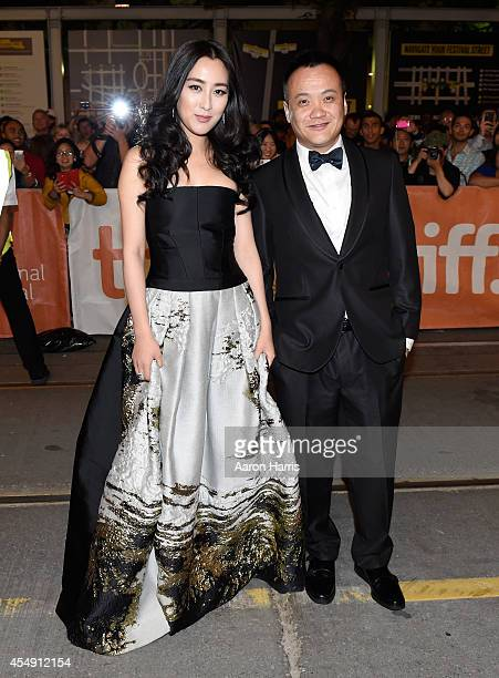 Actress Ma Su and director Ning Hao attend the Breakup Buddies premiere during the 2014 Toronto International Film Festival at Princess of Wales...