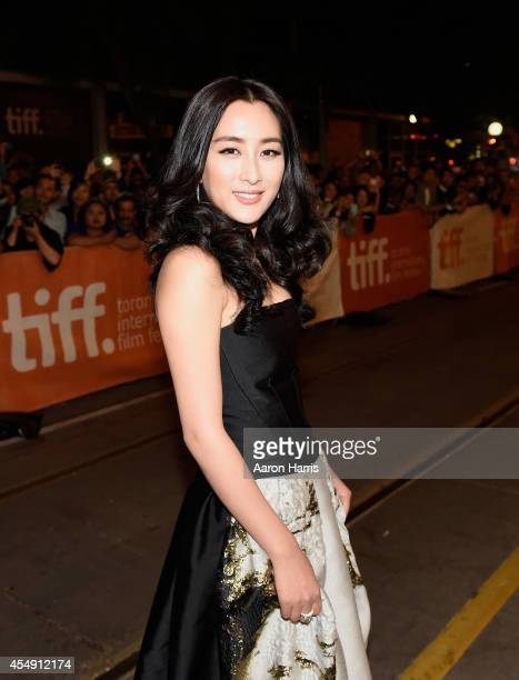 Actress Ma Su attends the Breakup Buddies premiere during the 2014 Toronto International Film Festival at Princess of Wales Theatre on September 7...
