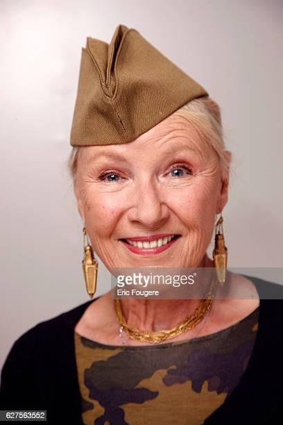 actress Maaike Jansen Photographed in PARIS