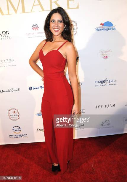 Actress Macarena Abad attends the Amare's Second Year Anniversary 'Believe Issue' Party held at Sofitel Los Angeles At Beverly Hills on December 13...