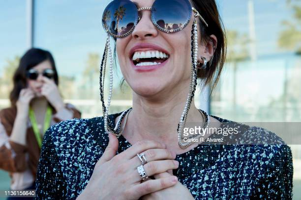 Actress Macarena Garcia attends 'A Pesar de Todo' photocall dureing the 22th Malaga Film Festival on March 16 2019 in Malaga Spain