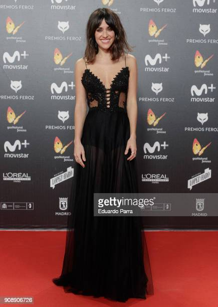 Actress Macarena Garcia attends Feroz Awards 2018 at Magarinos Complex on January 22 2018 in Madrid Spain