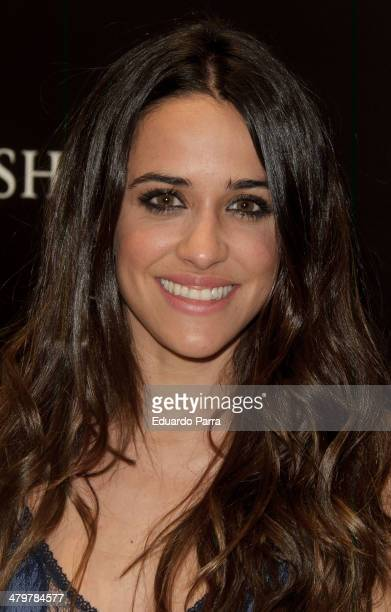 Actress Macarena Garcia attends 'Oysho' new collection presentation photocall at Oysho store on March 20 2014 in Madrid Spain
