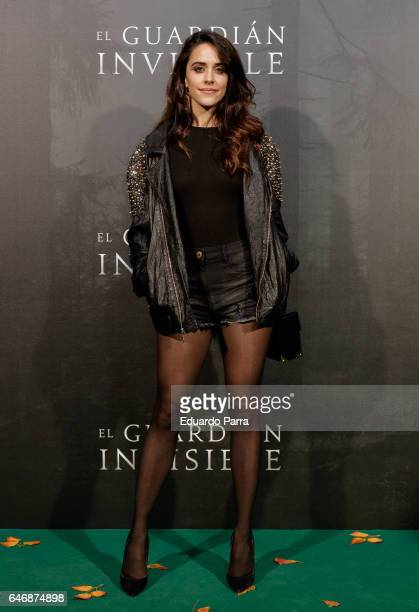 Actress Macarena Garcia attends the 'El guardian invisible' premiere at Capitol cinema on March 1 2017 in Madrid Spain