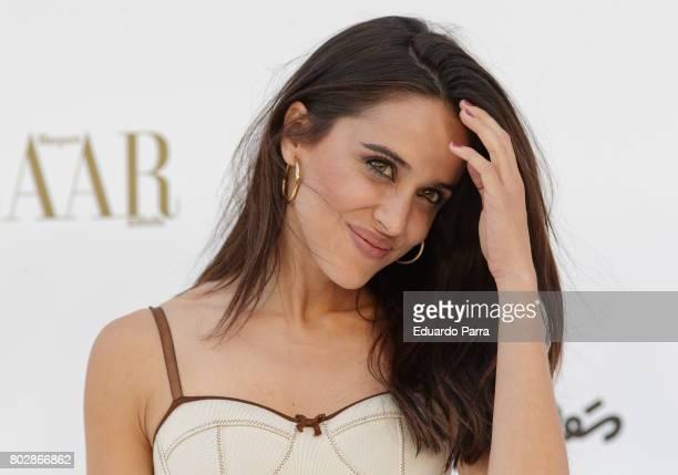 Actress Macarena Garcia attends the 'Harper's Bazaar summer party' photocall at Casa de Velazquez on June 28 2017 in Madrid Spain