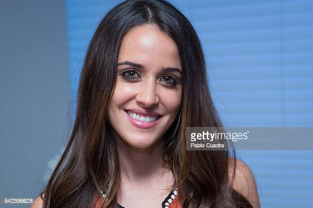 Actress Macarena Garcia attends the 'Villaviciosa De Al lado' photocall at Warner Bros office on June 23, 2016 in Madrid, Spain.