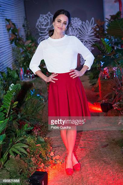 Actress Macarena Garcia presents the 'Amor Amor' Cacharel new campaign on November 5 2015 in Madrid Spain