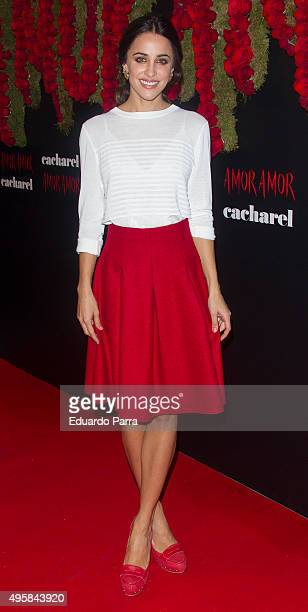 Actress Macarena Garcia presents the 'Amor Amor' Cacharel new campaign at The Hub space on November 5 2015 in Madrid Spain on November 5 2015 in...