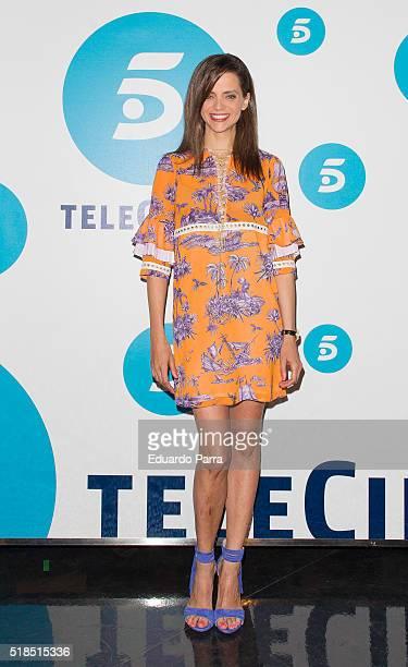 Actress Macarena Gomez attends 'La que se avecina' 9th season presentation at TeleCinco studios on April 1 2016 in Madrid Spain