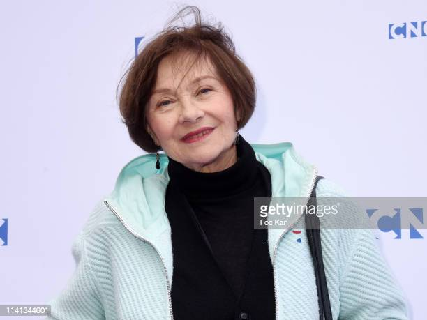 Actress Macha Meril Attends Tribute To Agnes Varda At Centre National Du Cinema Et De L'Image Animee In Paris on April 8 2019 in Paris France