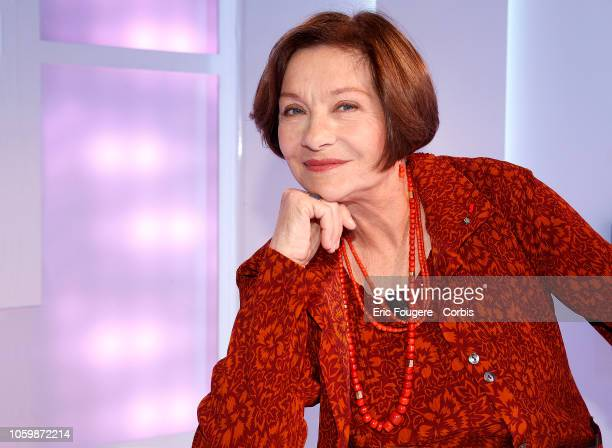Actress Macha Meril poses during a portrait session in Paris, France on .
