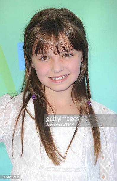 Actress Mackenzie Aladjem arrives at the 2011 Teen Choice Awards held at the Gibson Amphitheatre on August 7 2011 in Universal City California