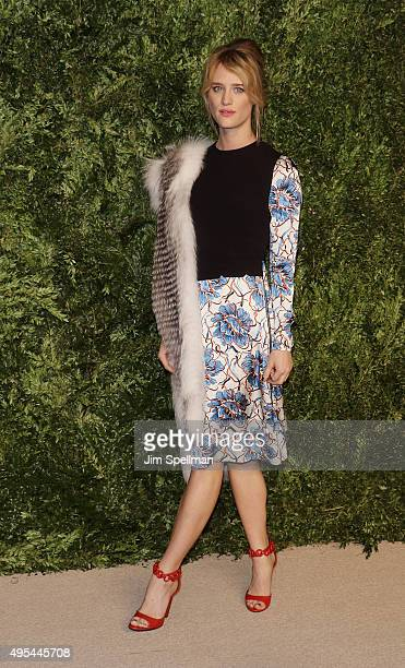 Actress Mackenzie Davis attends the 12th annual CFDA/Vogue Fashion Fund Awards at Spring Studios on November 2 2015 in New York City