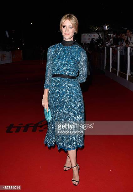 Actress Mackenzie Davis attends The Martian press conference during the 2015 Toronto International Film Festival at TIFF Bell Lightbox on September...