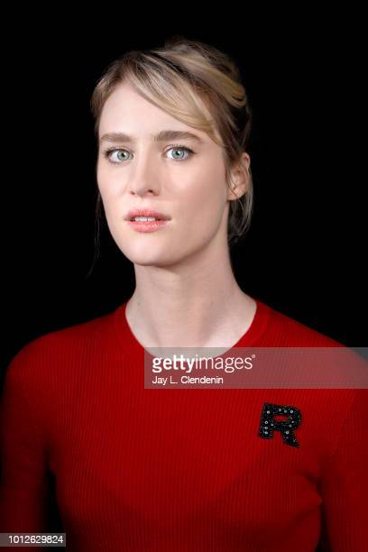 Actress Mackenzie Davis is photographed for Los Angeles Times on April 17 2018 in Los Angeles California PUBLISHED IMAGE CREDIT MUST READ Jay L...