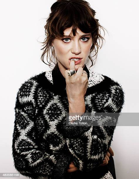 Actress Mackenzie Davis is photographed for Nylon Magazine on May 17 2013 in New York City