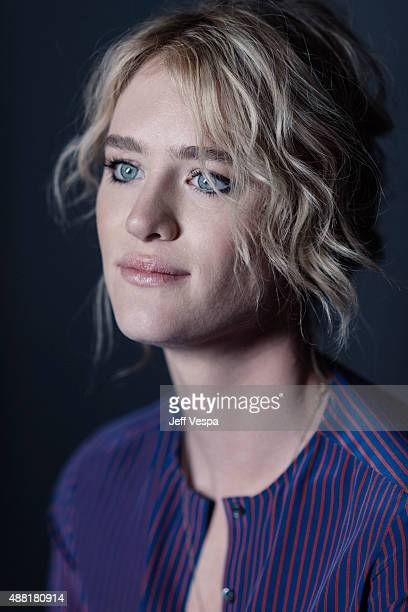 Actress Mackenzie Davis of The Martian poses for a portrait at the 2015 Toronto Film Festival at the TIFF Bell Lightbox on September 11 2015 in...