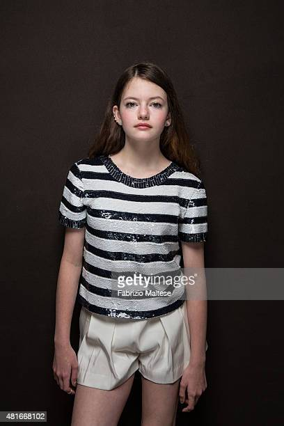 Actress Mackenzie Foy is photographed for The Hollywood Reporter on May 15 2015 in Cannes France