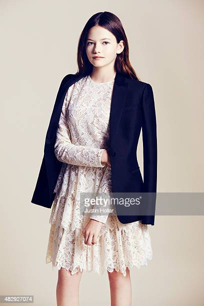 Actress Mackenzie Foy is photographed for Wmagazine.com on November 3, 2014 in New York City.