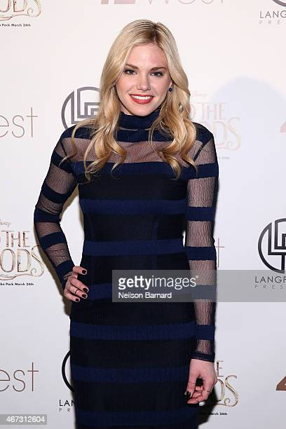 """Actress Mackenzie Mauzy attends Disney's Musical Birthday Tribute to Stephen Sondheim in celebration of """"Into the Woods"""" inhome release at 42West on..."""