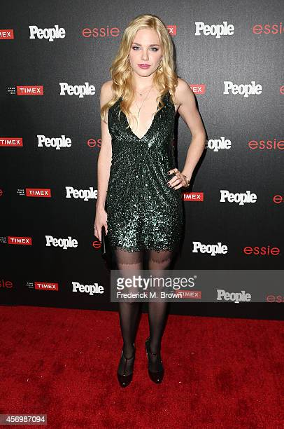Actress Mackenzie Mauzy attends People's 'Ones To Watch' Event at The Line on October 9 2014 in Los Angeles California